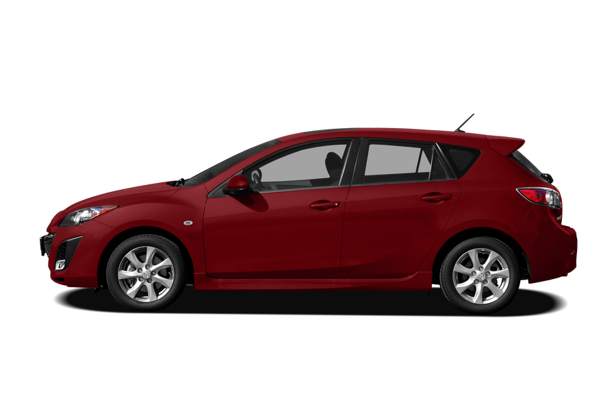 2010 Mazda Mazda3 exterior side view