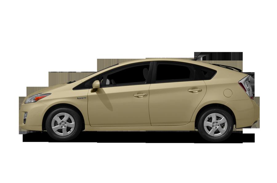 2010 Toyota Prius exterior side view