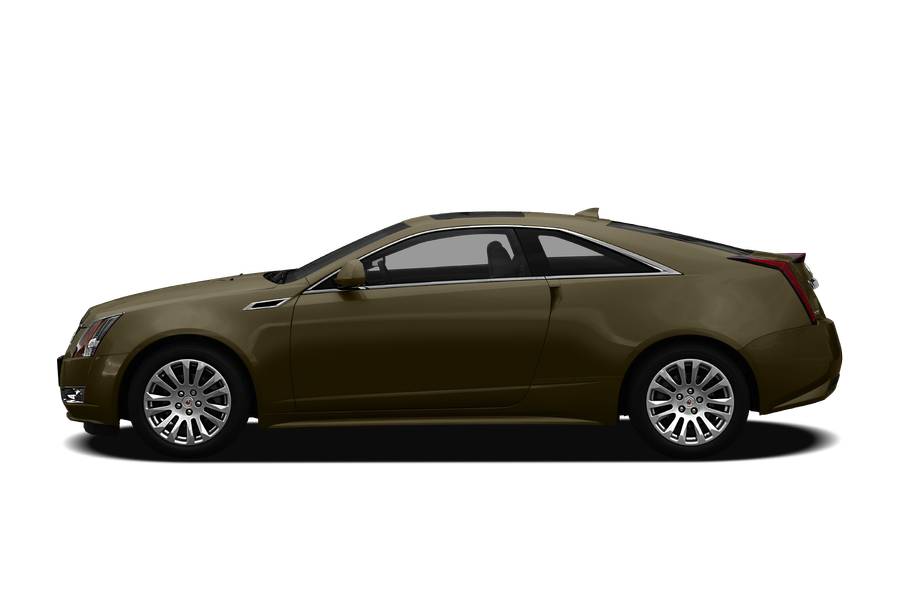 2011 Cadillac CTS exterior side view
