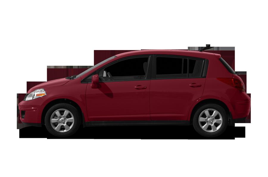 2011 Nissan Versa exterior side view
