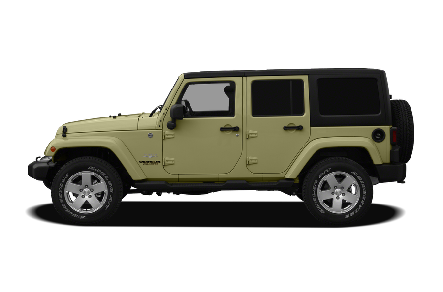 2012 Jeep Wrangler Unlimited exterior side view