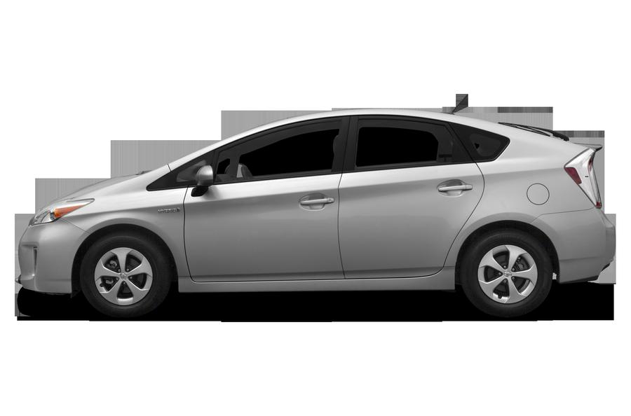 2012 Toyota Prius exterior side view