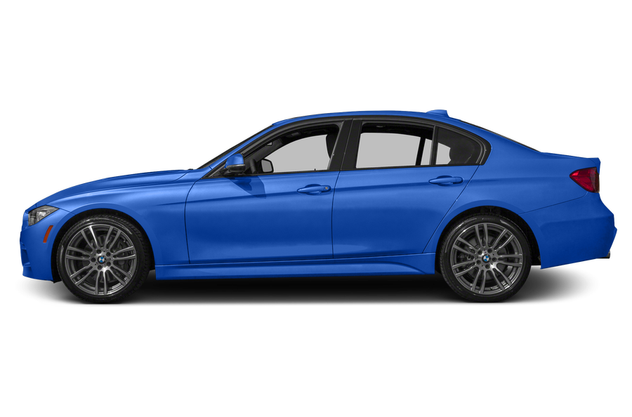 2015 BMW 335 exterior side view