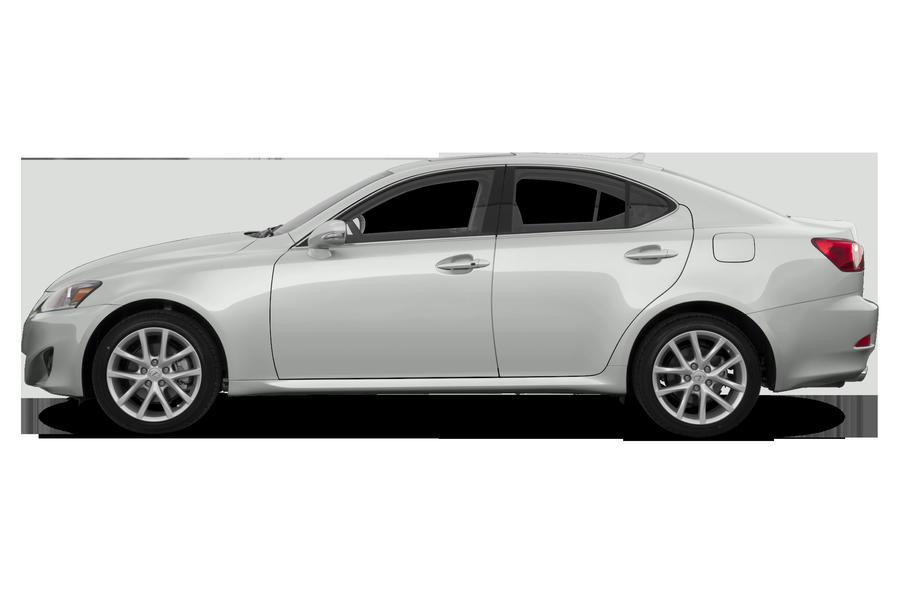 2013 Lexus IS 350 exterior side view