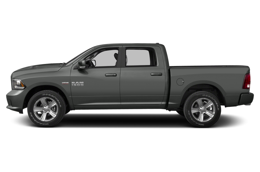2013 RAM 1500 exterior side view