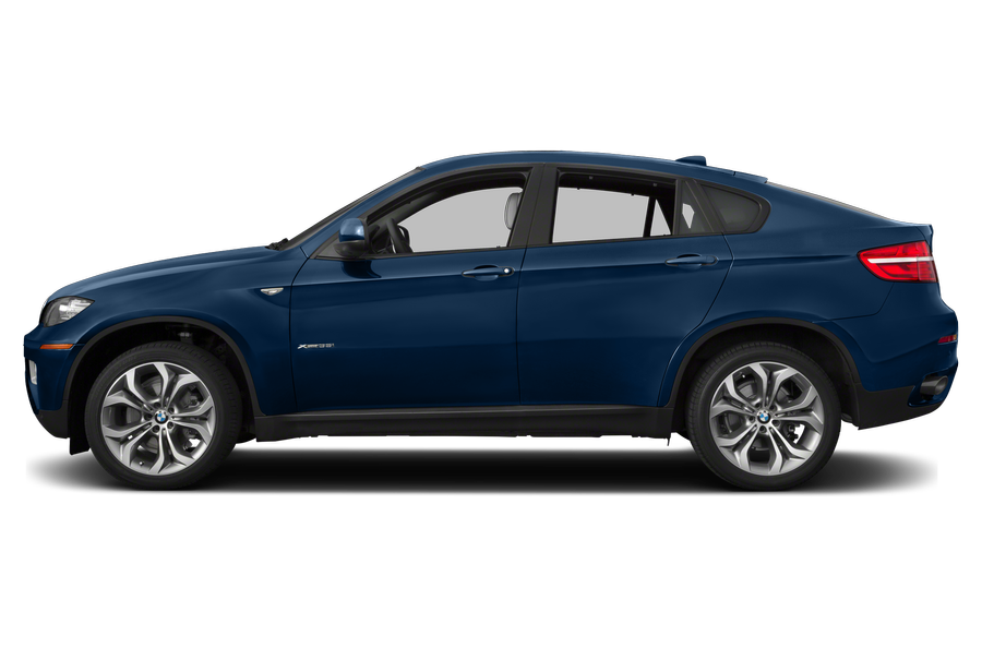2014 BMW X6 exterior side view