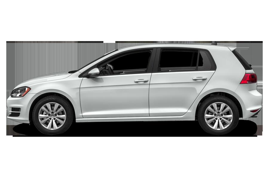 2017 Volkswagen Golf exterior side view