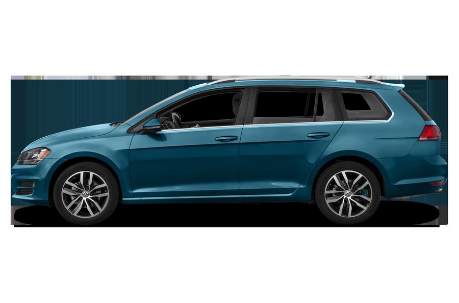 2017 Volkswagen Golf SportWagen exterior side view