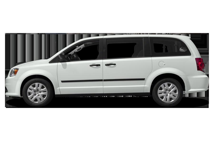 2018 Dodge Grand Caravan exterior side view