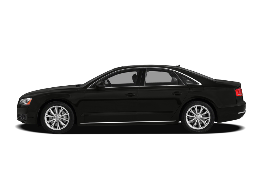 2012 Audi A8 exterior side view