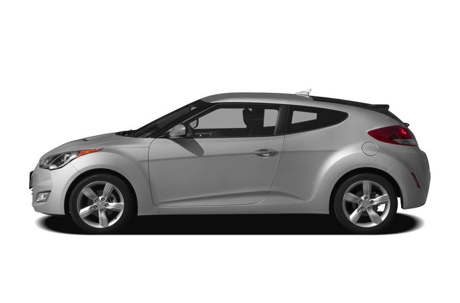 2012 Hyundai Veloster exterior side view