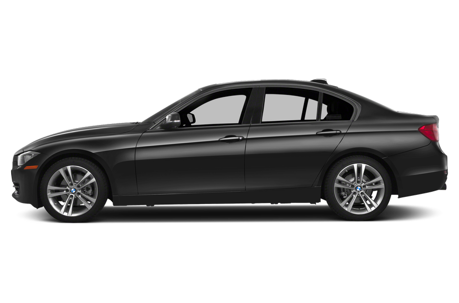 2014 BMW 320 exterior side view