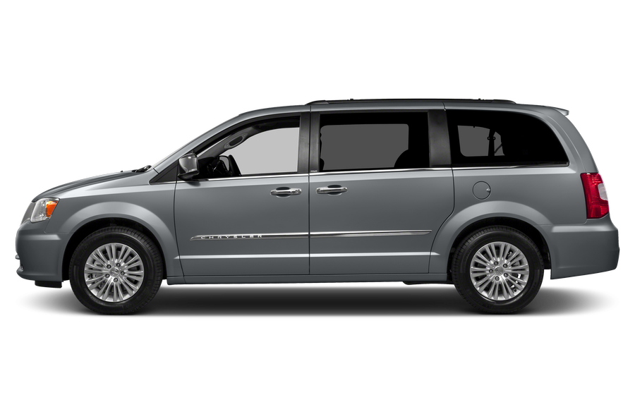 2013 Chrysler Town & Country exterior side view