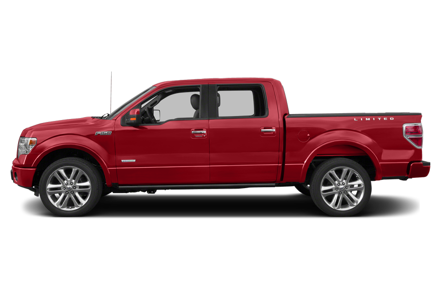 2013 Ford F-150 exterior side view