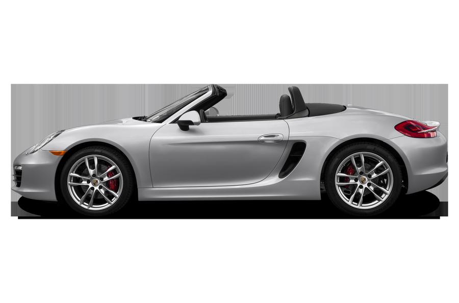 2016 Porsche Boxster exterior side view
