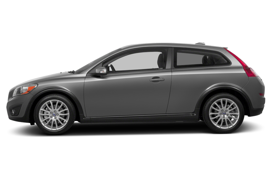 2013 Volvo C30 exterior side view