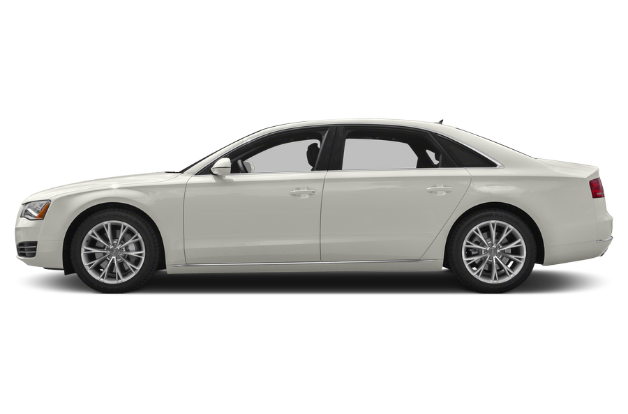 2014 Audi A8 exterior side view
