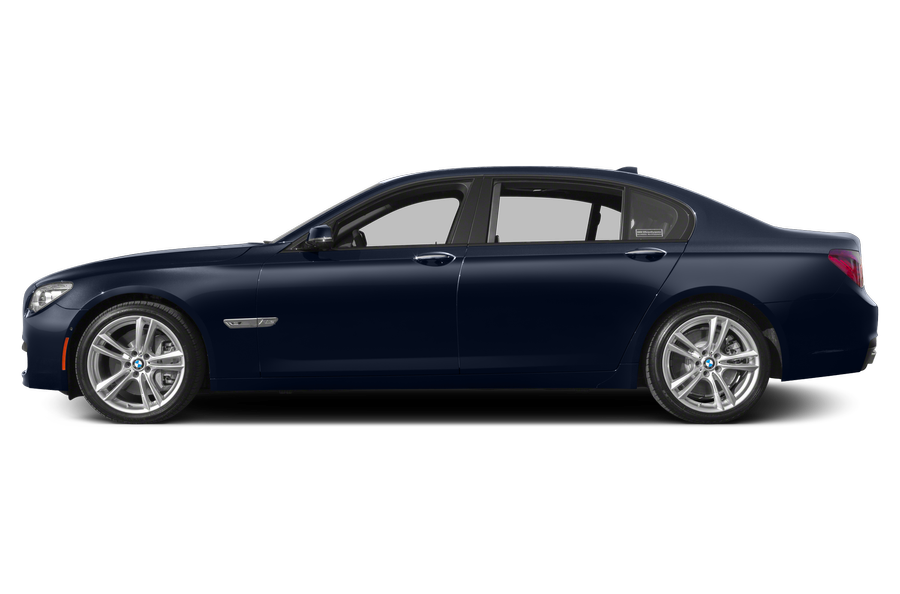 2014 BMW 760 exterior side view