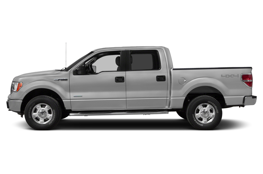 2014 Ford F-150 exterior side view