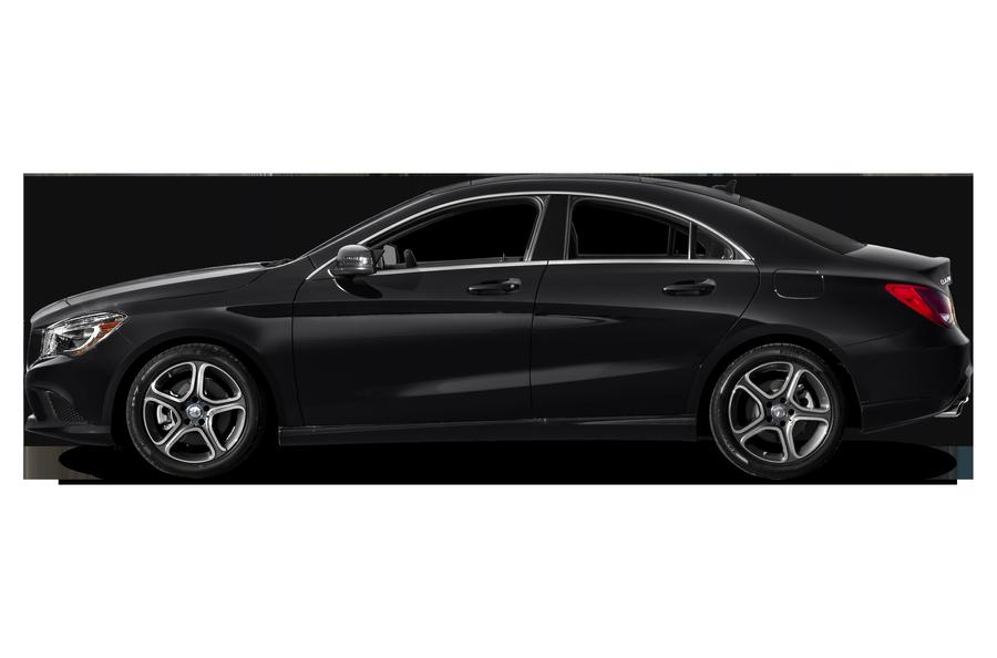 2016 Mercedes-Benz CLA-Class exterior side view