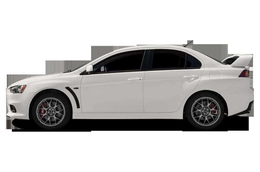2014 Mitsubishi Lancer Evolution exterior side view