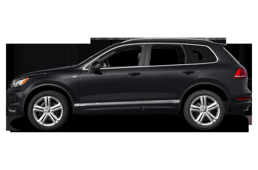 2014 Volkswagen Touareg exterior side view