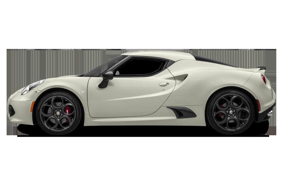 2016 Alfa Romeo 4C exterior side view