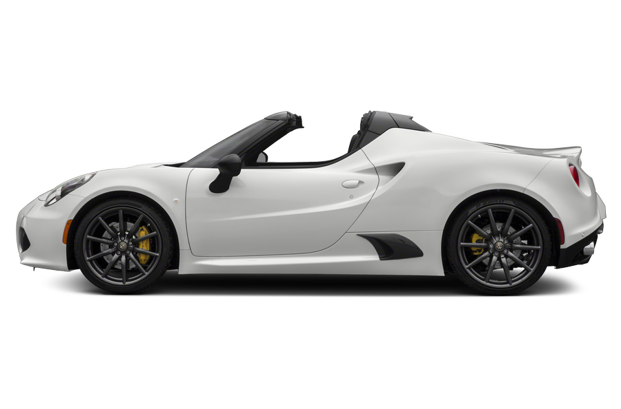 2016 Alfa Romeo 4C Spider exterior side view