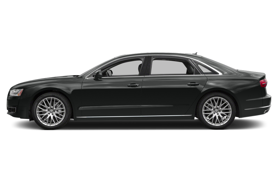 2016 Audi A8 exterior side view