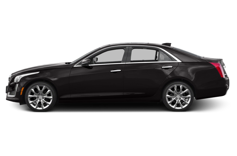 2016 Cadillac CTS exterior side view