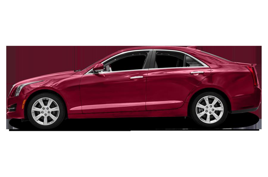 2016 Cadillac ATS exterior side view