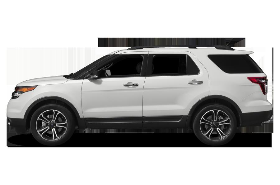 2015 Ford Explorer exterior side view