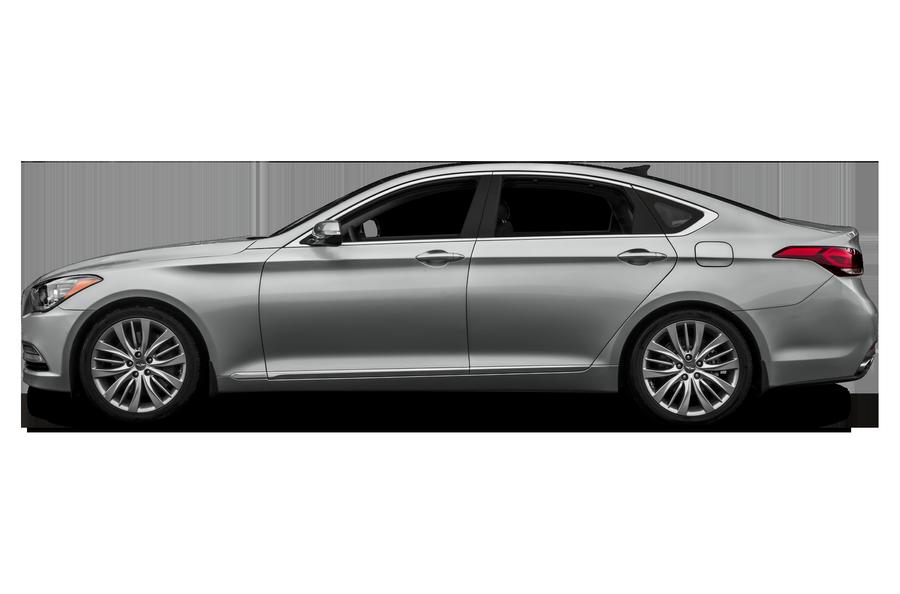 2015 Hyundai Genesis exterior side view