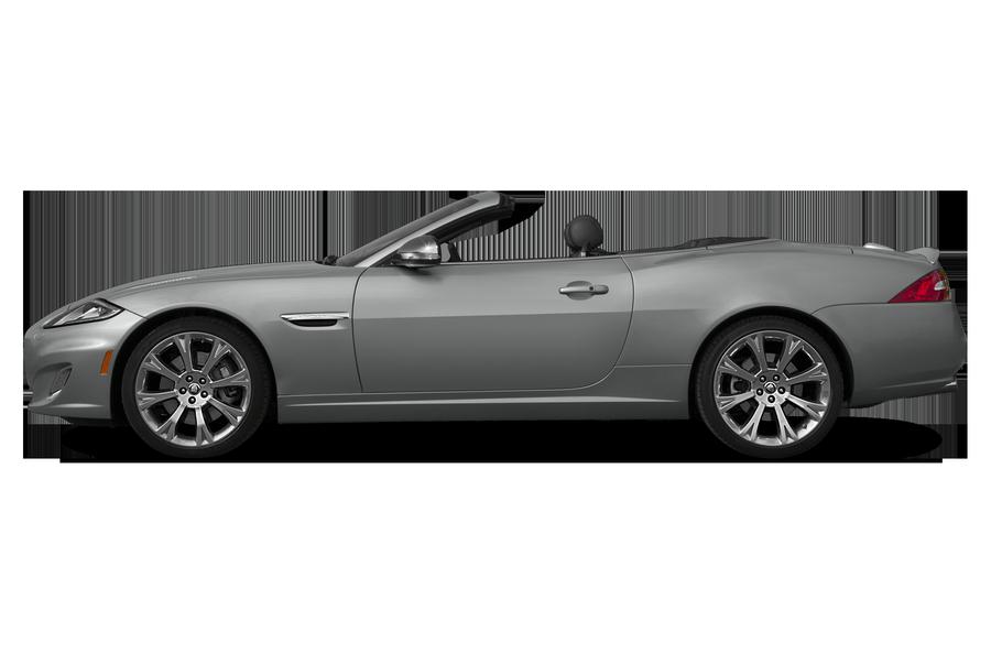 2015 Jaguar XK exterior side view