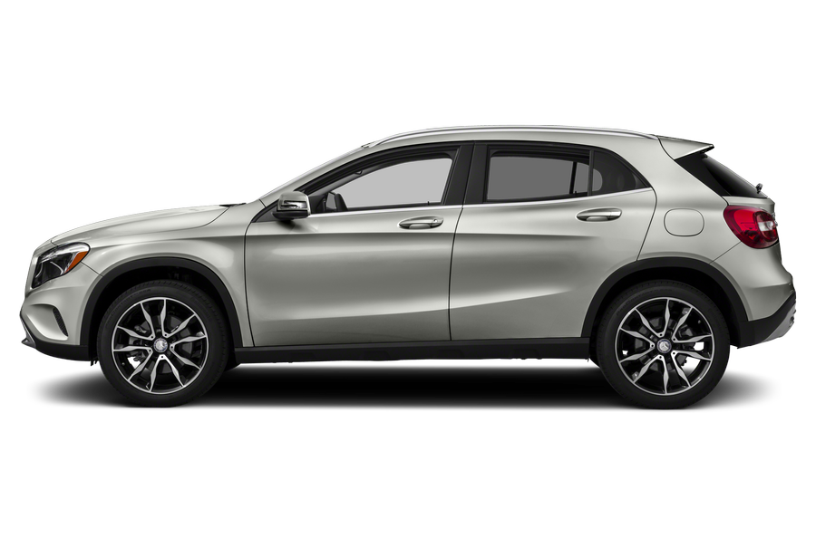 2016 Mercedes-Benz GLA-Class exterior side view