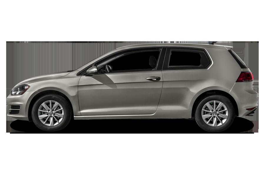 2016 Volkswagen Golf exterior side view