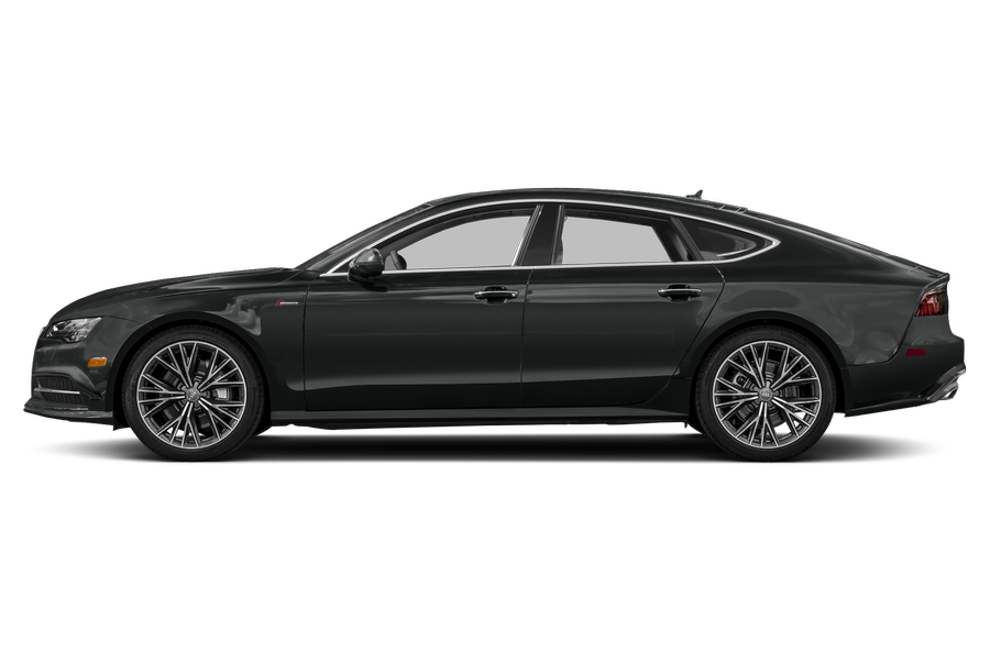 2018 Audi A7 exterior side view