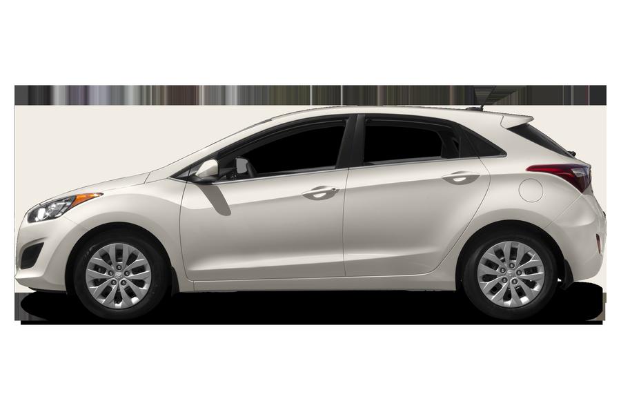 2017 Hyundai Elantra GT exterior side view
