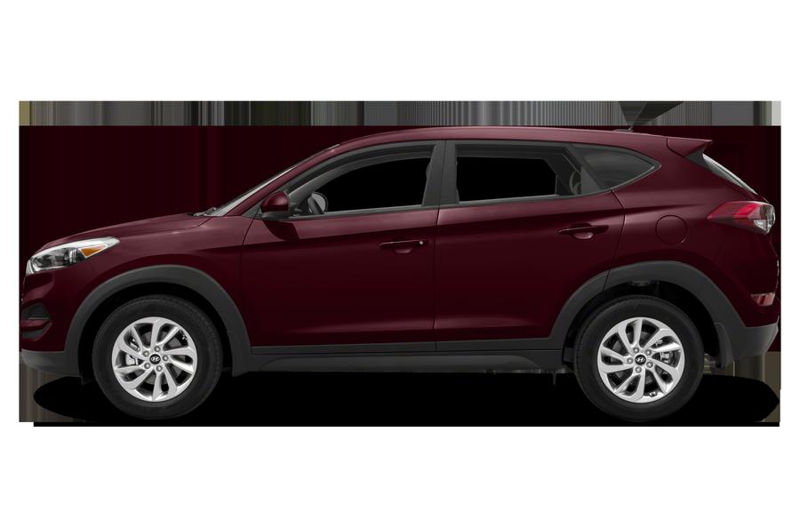 2017 Hyundai Tucson exterior side view
