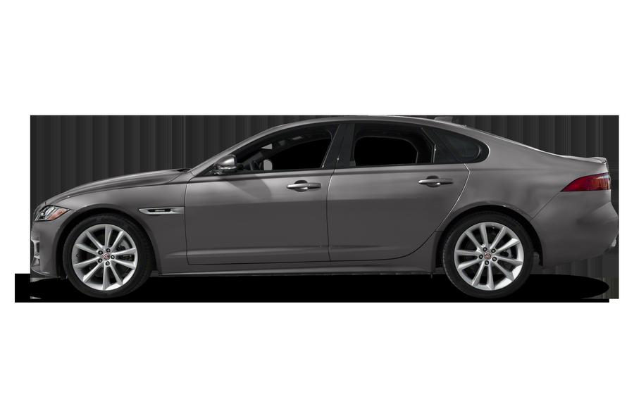 2017 Jaguar XF exterior side view