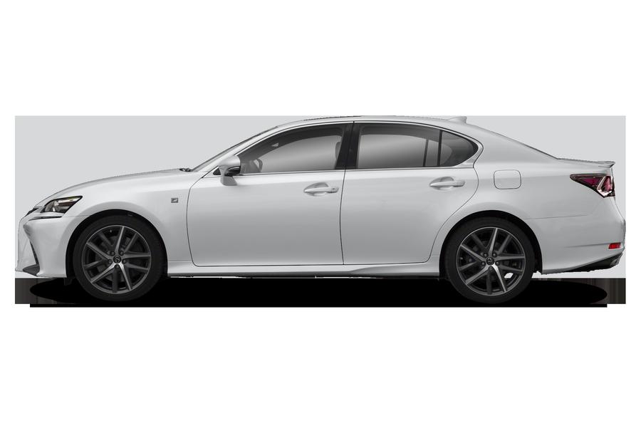 2017 Lexus GS 350 exterior side view