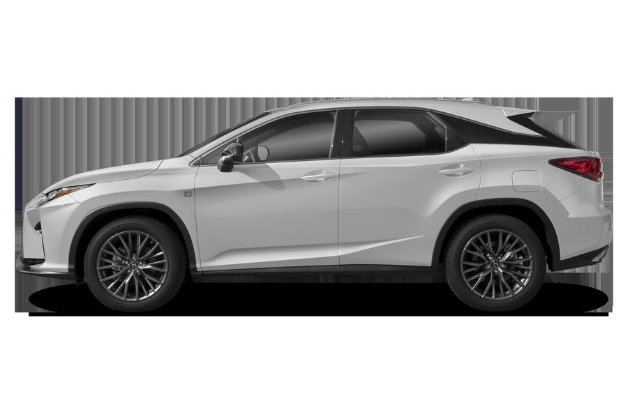 2018 Lexus RX 350 exterior side view