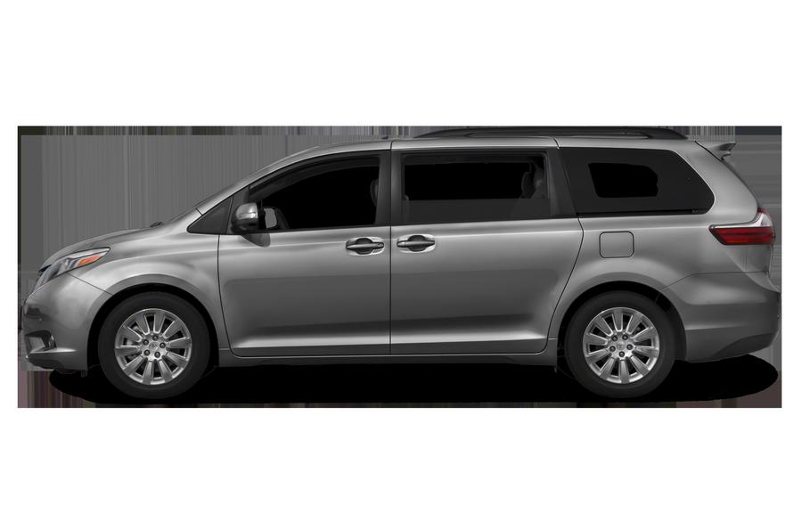 2016 Toyota Sienna exterior side view