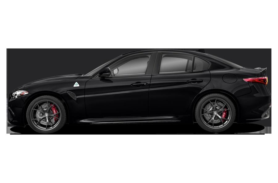 2017 Alfa Romeo Giulia exterior side view