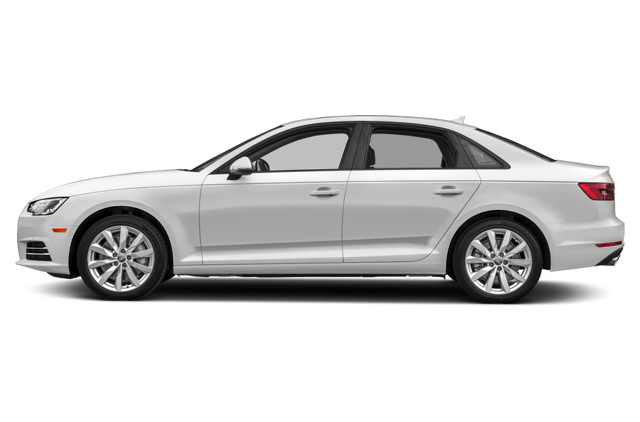 2018 Audi A4 exterior side view