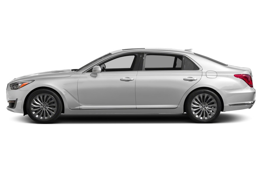 2017 Genesis G90 exterior side view