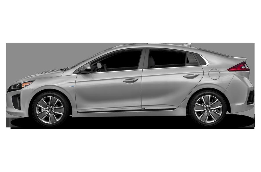 2017 Hyundai Ioniq Hybrid exterior side view
