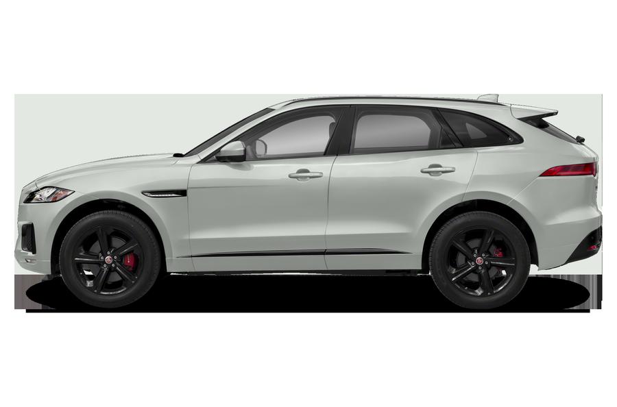 2017 Jaguar F-PACE exterior side view