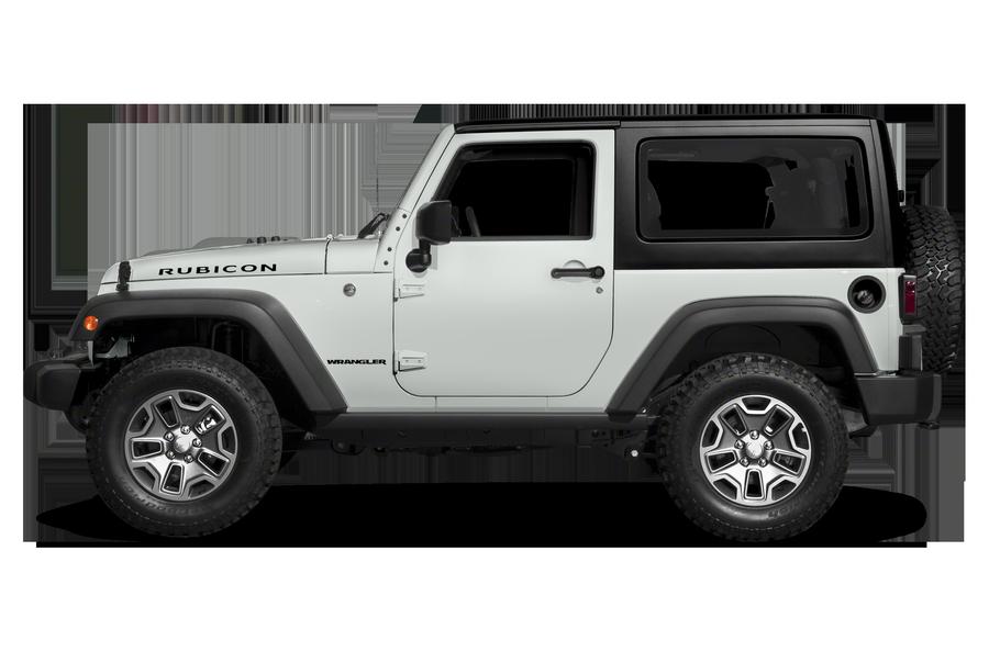 2017 Jeep Wrangler exterior side view