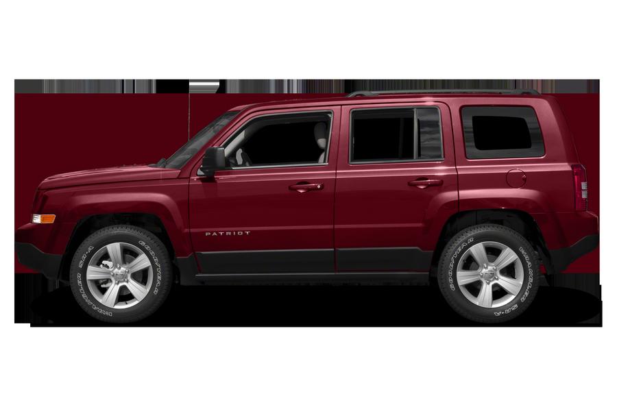 2017 Jeep Patriot exterior side view